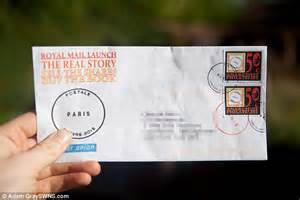 where does st go on envelope man sends letters using diy sts and royal mail failed