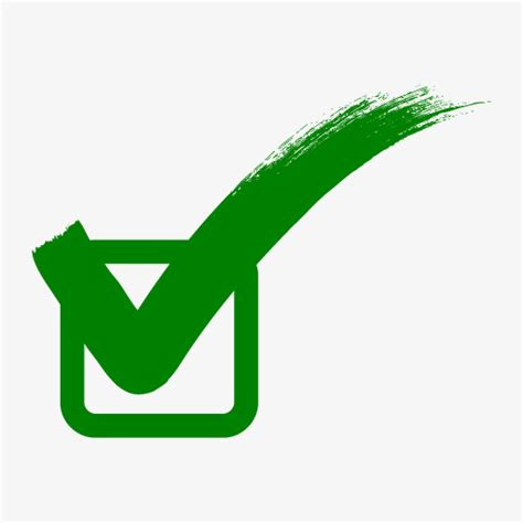 Higher Right Background Check Green Correct Sign Correct Green Tick Png Image For