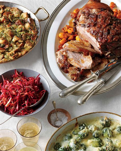 christmas catering ideas countdown to dinner martha stewart