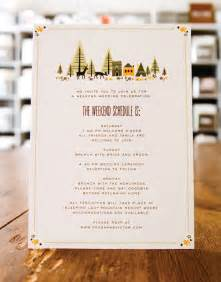 Ceremony Program Wording Wedding Stationery Inspiration Day Of Itineraries