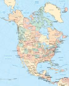 continent of america map continents the continent of america