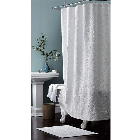 white matelasse shower curtain curtains ideas 187 matelasse shower curtain inspiring