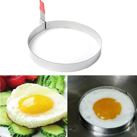 Stainless Steel Fried Egg Mold stainless steel fried egg cutter cooking mold alex nld