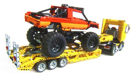 technic truck technic heavy transport monster truck youtube