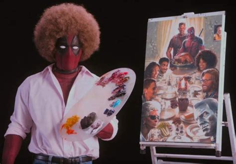 deadpool 2 trailer bob ross bob ross inspired teaser trailer for deadpool 2 released