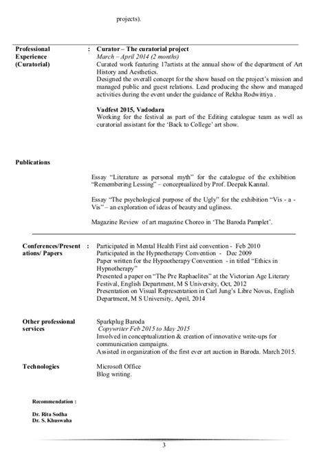 curator cover letter curator resume resume ideas