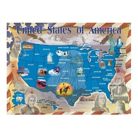 deluxe usa map puzzle doug usa map puzzles usa for