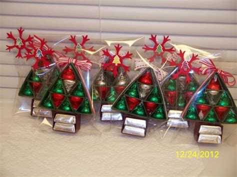hershey s christmas tree treat by d daisy cards and