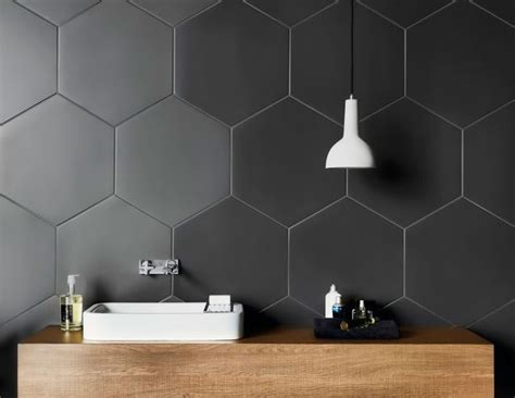 hexagon bathroom floor tiles 1000 ideas about hexagon tile bathroom on