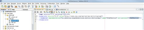 xml time pattern creating soap web services with netbeans 6 another