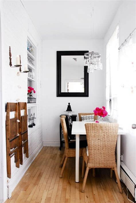 tiny dining room small dining room ideas design tricks for making the most of a small dining room