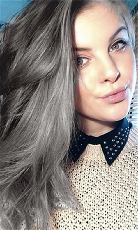 2015 hair color trends silver 2015 color trends