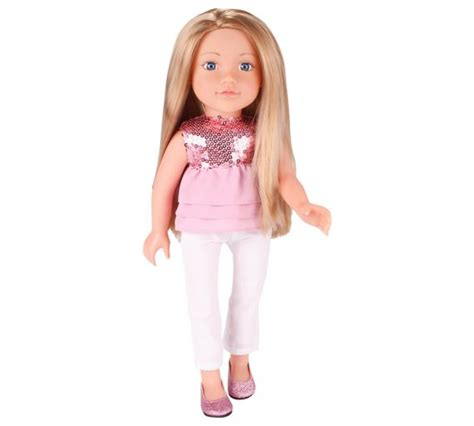 design a friend doll olivia buy chad valley designafriend aimee doll at argos co uk