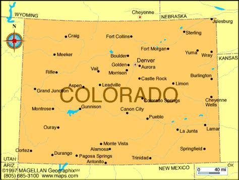 state map of colorado map of colorado was the 38th state to join the union it