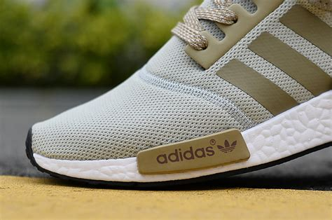 durable adidas nmd r1 runner grey beige khaki s s light casual sneakers shoes