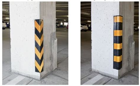 Parking Garage Column Protection by Parking Padding Solutions Park With Confidence