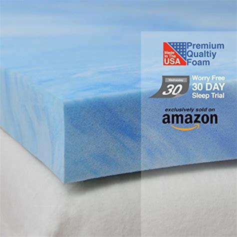 memory foam mattress pad 3 lb custom memory foam sure2sleep 3 pound high density plush gel memory foam