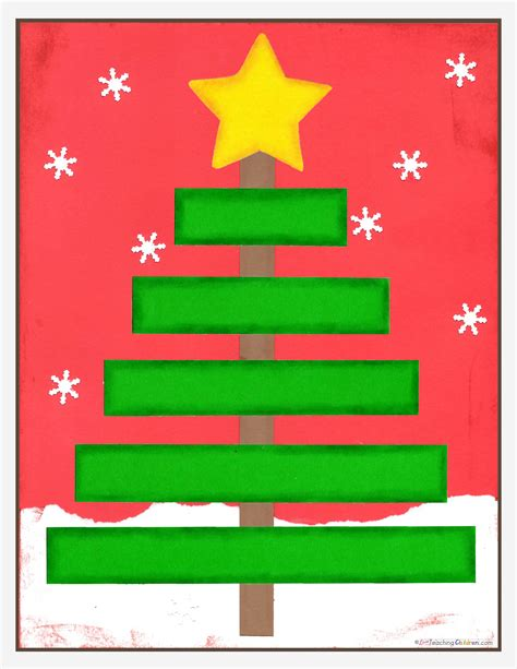 christmas tree math love teaching children