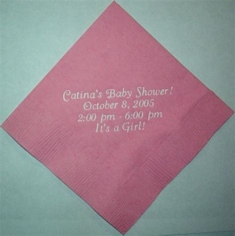 Personalized Baby Shower Napkins Cheap by Personalized Baby Shower Napkins