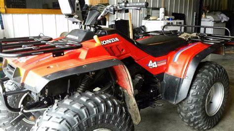 honda rancher snow plow honda foreman 4x4 snow plow motorcycles for sale