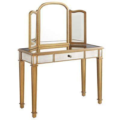 Gold Vanity Table Hayworth Mirror Vanity Gold I Pier One