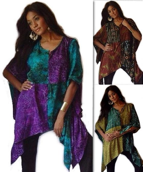 Blouse Batik O b234 blouse top shirt butterfly batik beautiful made 2 order lotustraders ebay