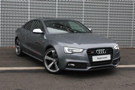 Audi A5 2014 Black by Used 2014 Audi A5 S5 Quattro Black Edition 2dr S Tronic