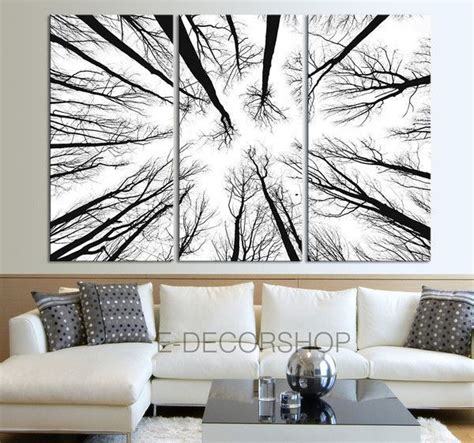 large wall art canvas prints dry tree branches wall art