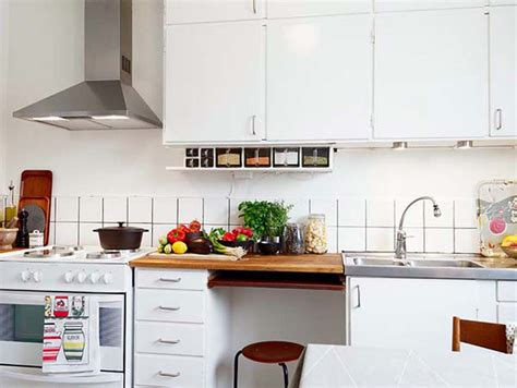 Decor Ideas For Small Kitchen by 31 Creative Small Kitchen Design Ideas