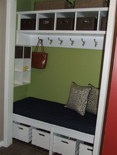 ideas  entryway closet  pinterest closet