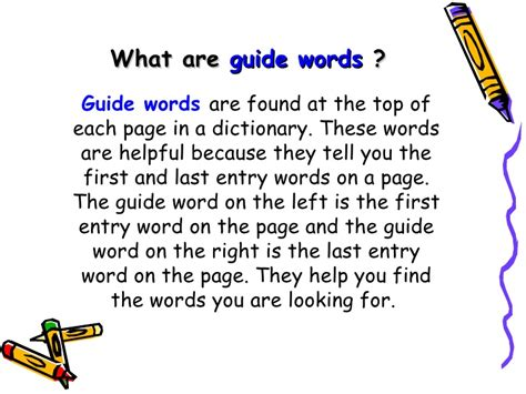 Using Guide Words Worksheet by 3rd Dictionary Guide Words