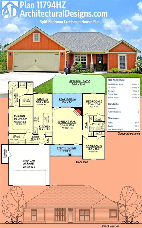slab home plans 17 best ideas about house plans on pinterest country