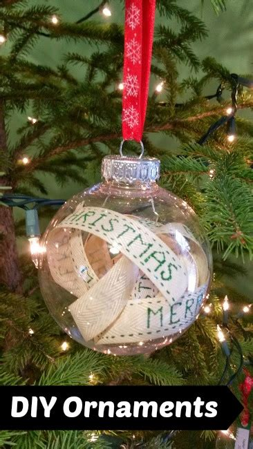 diy christmas ornaments scott family homestead
