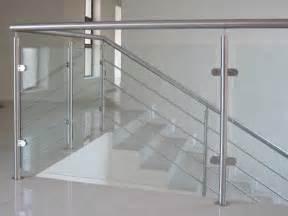 modern design chrome railing for balcony measuring for