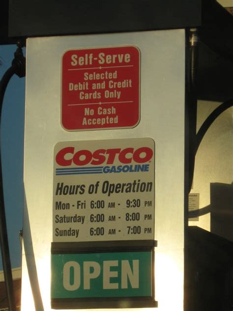 costco hours costco gas station hours yelp