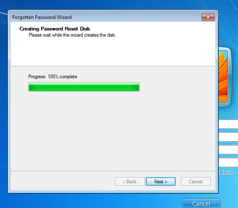 windows reset password disk how to create and use a windows 7 password reset disk