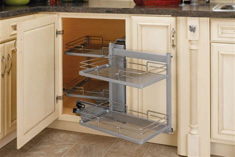 Kitchen Corner Cabinet Organizer by The Closet Works Gallery Kitchen Organizers