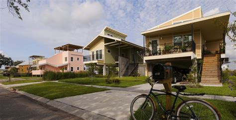 sustainable homes for katrina victims from brad pitt green alternative to treated lumber reported to be rotting