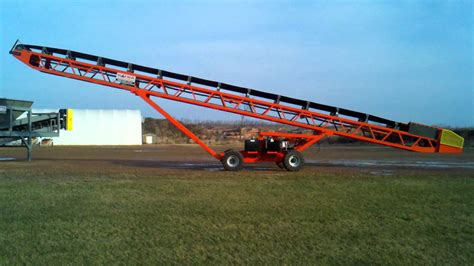 Mobil Remote R C Randa Max self contained mobile conveyor with remote