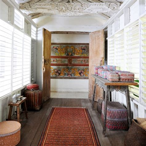 hallway tropical bungalow house tour housetohome co uk