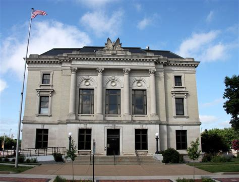 Post Office Eau Wi by United States Post Office And Courthouse Eau