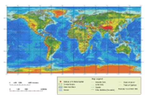 elevation map of the world global elevation map