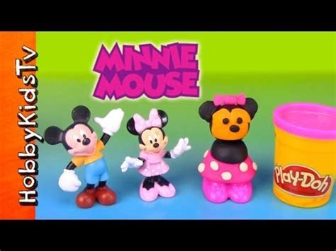 New Play Doh Minnie Mouse play doh makeables minnie mouse with mickey mouse disney