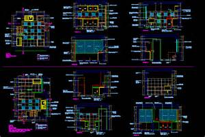 Adobe House Plans kitchen details in autocad drawing bibliocad