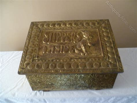the slipper box antiques atlas copper slipper box