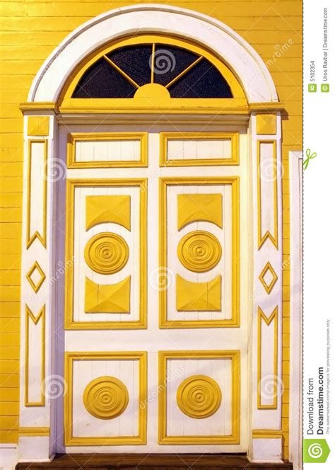 colorful doors carved colorful doors stock photo image of specific