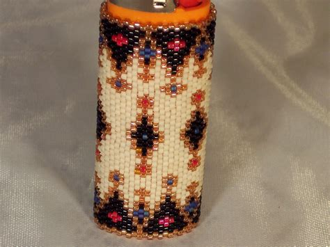 how to make beaded lighter covers beaded lighter cover