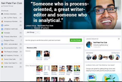 neil fan club how to design a highly effective facebook page