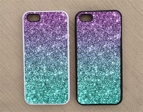 Casing Silikon Gliter Isi 5 ombre fade pattern glitter iphone iphone 5 iphone 4 iphone 4s not real