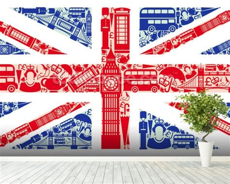 union wall mural union montage wallpaper wall mural wallsauce